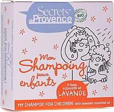 Fragrances, Perfumes, Cosmetics Kids Solid Shampoo - Secrets De Provence My Children Shampoo Lavender Essential Oil