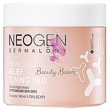Fragrances, Perfumes, Cosmetics Moisturizing Probiotic Pads - Neogen Dermalogy Probiotics Relief Toning Pad