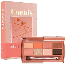 Fragrances, Perfumes, Cosmetics Eyeshadow Palette - Heimish Dailism Eye Palette Coral Essay