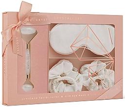 Fragrances, Perfumes, Cosmetics Set - Crystallove Clear Quartz Home SPA Set