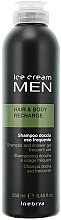 Fragrances, Perfumes, Cosmetics Toning Shampoo & Shower Gel - Inebrya Ice Cream Men Hair and Body Recharge