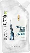 Fragrances, Perfumes, Cosmetics Deep Action Mask for Damaged Hair - Biolage Advanced Keratindose Deep Treatment Recovery Pack
