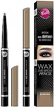 Fragrances, Perfumes, Cosmetics Wax Brow Pencil - Bell Wax Eye Brow Pencil
