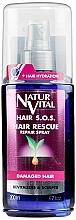 Fragrances, Perfumes, Cosmetics Anti Hair Loss & Brittleness Spray - Natur Vital Hair Rescue Repair Spray