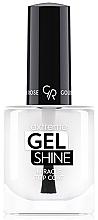 Fragrances, Perfumes, Cosmetics Gel Polish Top Coat - Golden Rose Extreme Gel Shine Miracle Top Coat