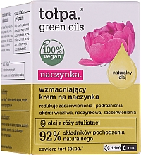 Fragrances, Perfumes, Cosmetics Rosacea Strengthening Cream - Tolpa Green Oils Cream