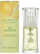 Fragrances, Perfumes, Cosmetics Frais Monde Spa Fruit Orange And Chilli Leaves - Eau de Toilette