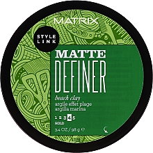 Fragrances, Perfumes, Cosmetics Hair Styling Paste - Matrix Style Link Matte Definer Beach Clay