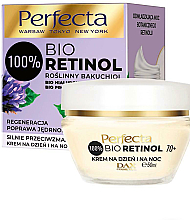 Fragrances, Perfumes, Cosmetics Firming Anti-Wrinkle Cream 70+ - Perfecta Bio Retinol 70+ Anti-Wrinkle Day And Night Cream-Firming