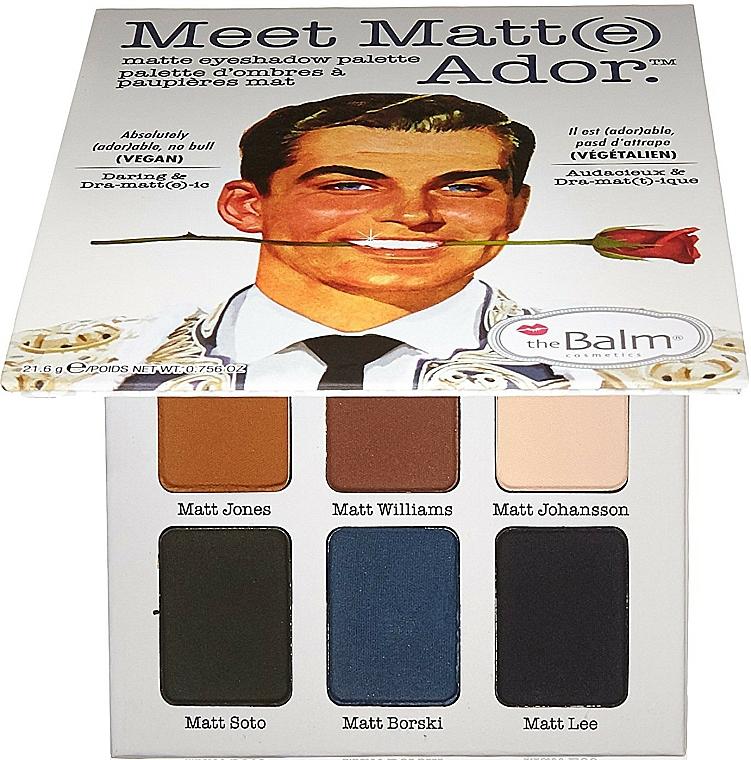 Eyeshadow Palette - TheBalm Meet Matt(e) Ador Matte Eyeshadow Palette