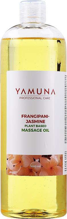 """Massage Oil """"""""Frangipani-Jasmine"""" - Yamuna Frangipani-Jasmine Plant Based Massage Oil"""