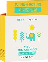 Fragrances, Perfumes, Cosmetics Sun Cushion - Holika Holika Mild Sun Cushion SPF45