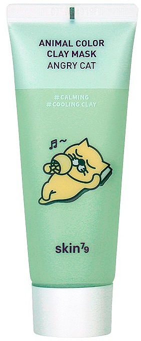 Soothing Clay Mask - Skin79 Animal Color Clay Mask Angry Cat