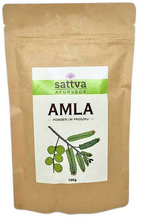 "Ayurvedic Hair Powder ""Amla"" - Sattva"