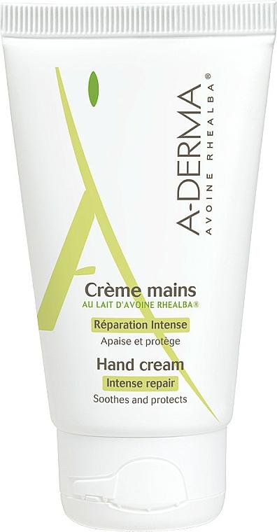 Hand Cream with Oat Milk - A-Derma Intensiv Repair Handcreme — photo N1