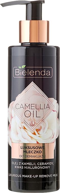 Face Makeup Remover Milk - Bielenda Camellia Oil Luxurious Make-up Removing Milk