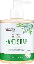 "Fragrances, Perfumes, Cosmetics Liquid Soap ""Green Tea"" - Wooden Spoon Tea Tree Hand Soap"