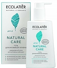 "Fragrances, Perfumes, Cosmetics Intimate Hygiene Gel ""Daily Care"" - Ecolatier Natural Care"