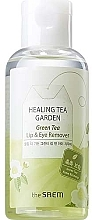 Fragrances, Perfumes, Cosmetics Eye & Lip Makeup Remover with Green Tea Extract - The Saem Healing Tea Garden Green Tea Lip & Eye Remover