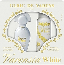 Fragrances, Perfumes, Cosmetics Ulric De Varens Varensia White - Set (edp/50ml + deo/125ml)