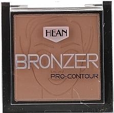 Fragrances, Perfumes, Cosmetics Face Bronzer - Hean Pro-contour Bronzer