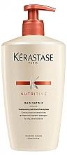 Fragrances, Perfumes, Cosmetics Shampoo - Kerastase Bain Satin 2 Nutritive Shampoo