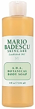 Fragrances, Perfumes, Cosmetics Botanical Body Soap - Mario Badescu A.H.A. Botanical Body Soap