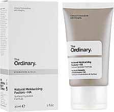 Fragrances, Perfumes, Cosmetics Natural Moisturizing Factor - The Ordinary Natural Moisturizing Factors + HA