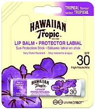 Fragrances, Perfumes, Cosmetics Sun Lip Balm - Hawaiian Tropic Lip Balm SPF 30