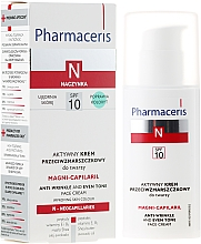 Fragrances, Perfumes, Cosmetics Active Anti-Wrinkle Cream - Pharmaceris N Magni-Capilaril Active Anti-Wrinkle Cream