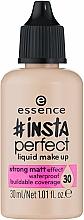 Fragrances, Perfumes, Cosmetics Foundation - Essence Insta Perfect Liquid Make Up