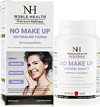 Fragrances, Perfumes, Cosmetics Food Supplement for Healthy Skin and Hair - Noble Health No Make Up