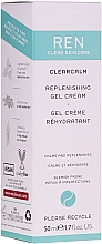 Fragrances, Perfumes, Cosmetics Replenishing Gel Cream - Ren Clearcalm Replenishing Gel Cream