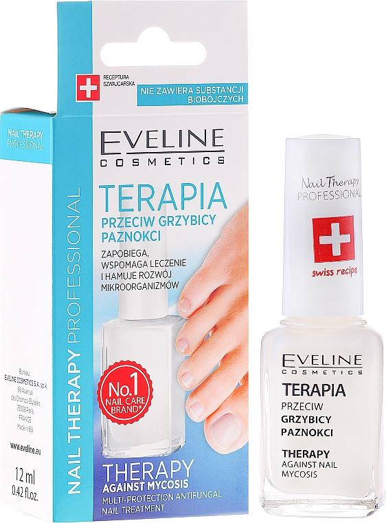 Anti-Fungal Nail Care - Eveline Cosmetics Nail Polish for Nail Fungus Feet & Hands Mykose