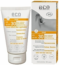 Fragrances, Perfumes, Cosmetics Waterproof Tanning Sun Cream SPF 30 - Eco Cosmetics Sonne SLF 30 Getoent