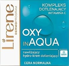 Fragrances, Perfumes, Cosmetics Moisturizing Day Cream for Face - Lirene Dermo Program Oxy In Aqua Vitamin C