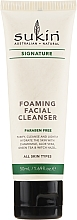 Fragrances, Perfumes, Cosmetics Face Cleanser - Sukin Foaming Facial Cleanser