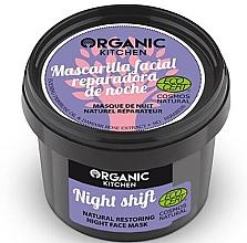 "Fragrances, Perfumes, Cosmetics Restoring Night Face Mask ""Night Shift"" - Organic Shop Organic Kitchen Fase Mask"