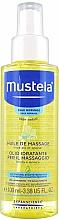 Fragrances, Perfumes, Cosmetics Massage Body Oil - Mustela Bebe Massage Oil