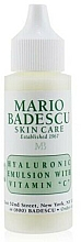 Fragrances, Perfumes, Cosmetics Face Serum - Mario Badescu Hyaluronic Emulsion With Vitamin C