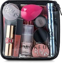 "Fragrances, Perfumes, Cosmetics Clear Makeup Bag ""Visible Bag"" 15x15x5 cm - MakeUp"