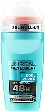 Fragrances, Perfumes, Cosmetics Roll-On Deodorant - L'Oreal Paris Men Expert Cool Power Deodorant Roll-on
