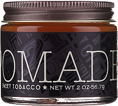 Fragrances, Perfumes, Cosmetics Hair Styling Pomade - 18.21 Man Made Hair Pomade Sweet Tobacco Styling Product Medium Hold