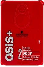 Fragrances, Perfumes, Cosmetics Hair Wax with Matte Effect - Schwarzkopf Professional Osis+ Mess Up Matt Gum