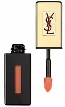 Fragrances, Perfumes, Cosmetics Lip Lacquer - Yves Saint Laurent Rouge Pur Couture Vernis a Levres Rebel Nudes Glossy Stain