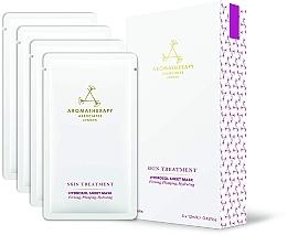 Fragrances, Perfumes, Cosmetics Rejuvenating Facial Sheet Mask - Aromatherapy Associates Skin Treatment Hydrosol Sheet Mask