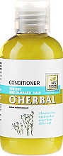 Fragrances, Perfumes, Cosmetics Flax Extract Dry & Dull Hair Conditioner - O'Herbal