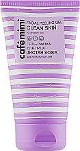 "Fragrances, Perfumes, Cosmetics Facial Peeling Gel ""Clean Skin"" - Cafe Mimi Facial Peeling Gel Clean Skin"
