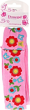 Fragrances, Perfumes, Cosmetics Hair Band, 5495, pink in flowers - Donegal