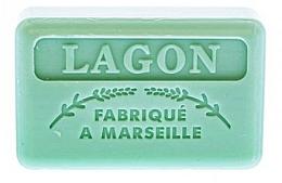 Fragrances, Perfumes, Cosmetics Marseilles Soap Lagoon - Foufour Savonnette Marseillaise Lagon